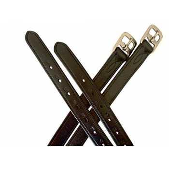 nucleo in nylon non elastico Staffe per selle Denver Equipride Leathers colore: Nero e Marrone