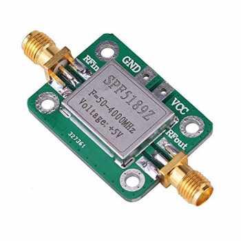 LNA RF a Basso Rumore Modulo Amplificatore a Banda Larga Il Segnale rafforza 1-3000MHz 2.4GHz 20dB HF VHF//UH Design Compatto per Un Facile Trasporto Bewinner1 Modulo Amplificatore a Banda Larga